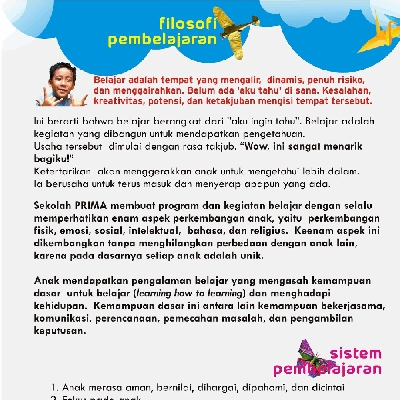 Sekolah Inklusif Berkarakter dan Berbasis Nilai Islam FILOSOFI PEMBELAJARAN